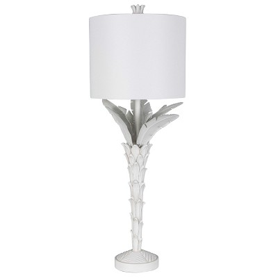 Palm Leaf Buffet Table Lamp White (Includes Energy Efficient Light Bulb)- Opalhouse™