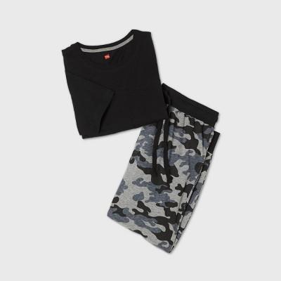Hanes Men's Short Sleeve Pajama Set