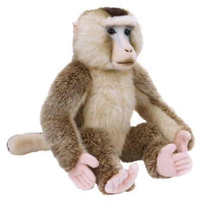 Lelly National Geographic Macaque Plush Toy