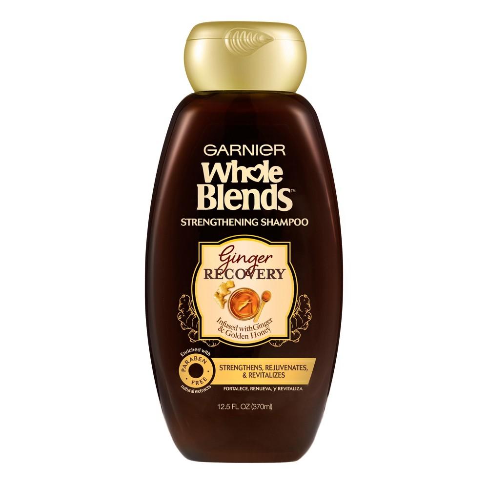 Garnier Whole Blends Ginger Recovery Strengthening Shampoo - 12.5 fl oz