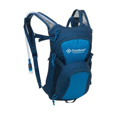 "Outdoor Products 2.1"" Tadpole Hydration Pack - Blue"