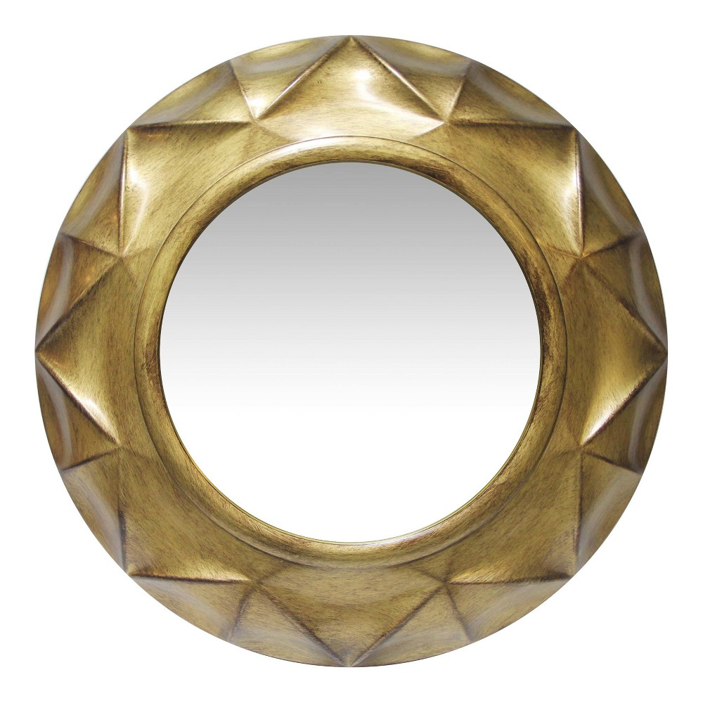 "Image of ""Gold Vigil 20"""" Wall Mirror Gold - Infinity Instruments"""