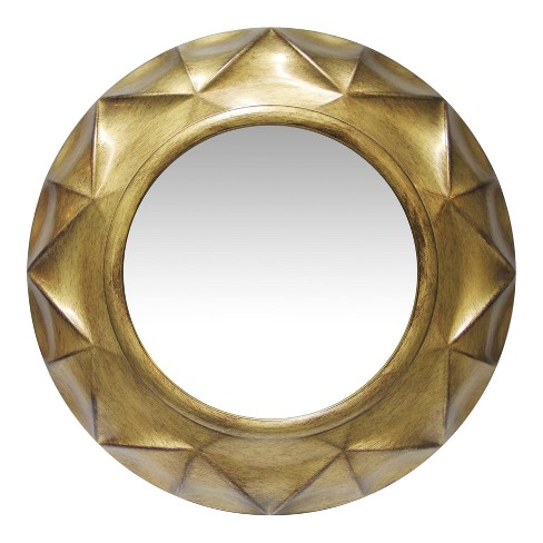 """Gold Vigil 20"""" Wall Mirror Gold - Infinity Instruments - image 1 of 4"""