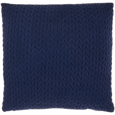 Life Styles Quilted Chevron Throw Pillow - Mina Victory