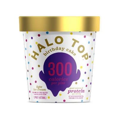 Halo Top Birthday Cake Ice Cream - 16oz