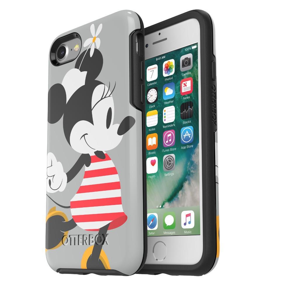 OtterBox Apple iPhone 8/7 Disney Symmetry Case - Minnie Mouse Stripes, Minne Mouse Stripes