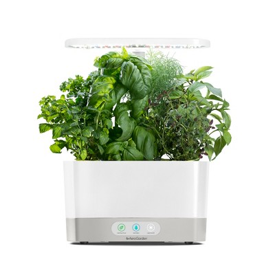 AeroGarden Harvest with Gourmet Herbs 6-Pod Seed Kit - White