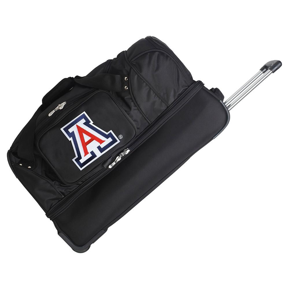 NCAA Arizona Wildcats 27'' Rolling Drop Bottom Duffel Bag