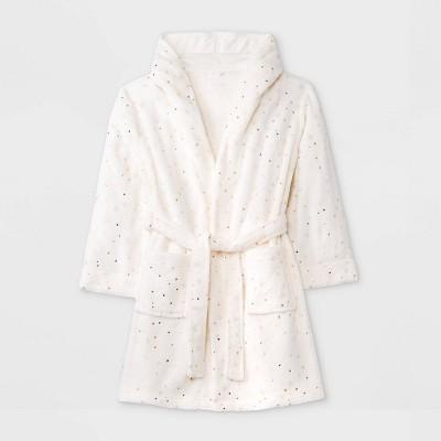 Girls' Star Robe - Cat & Jack™ Cream