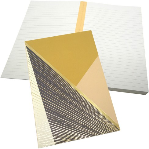 Green Inspired Lined Journal Softcover Geo Burst - Gold - image 1 of 1