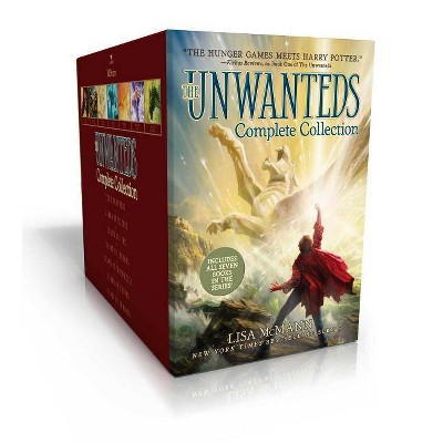 The Unwanteds Complete Collection - by Lisa McMann (Hardcover)