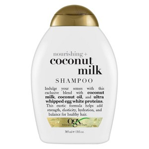 OGX Nourishing + Coconut Milk Shampoo - 13 fl oz, Size: 13 Ounce