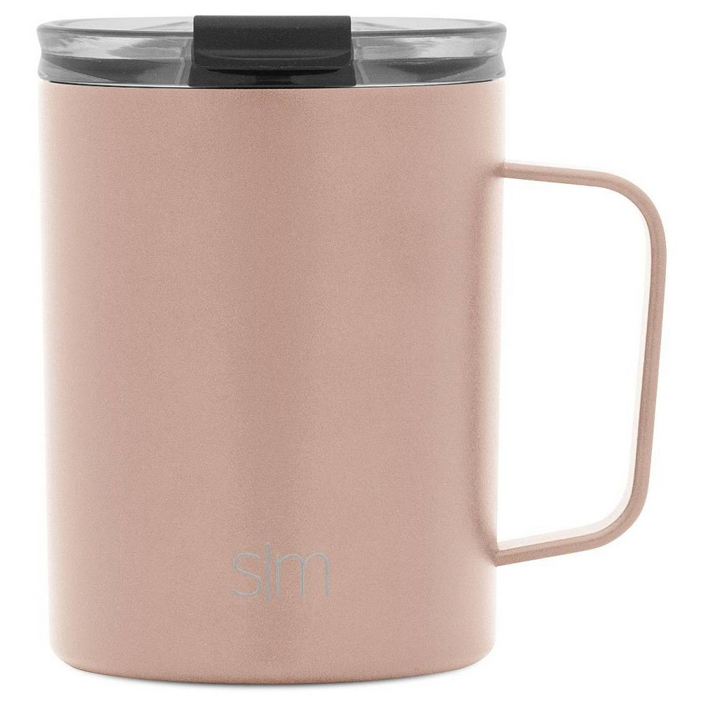Image of Simple Modern 12oz Stainless Steel Scout Coffee Mug Rose Gold