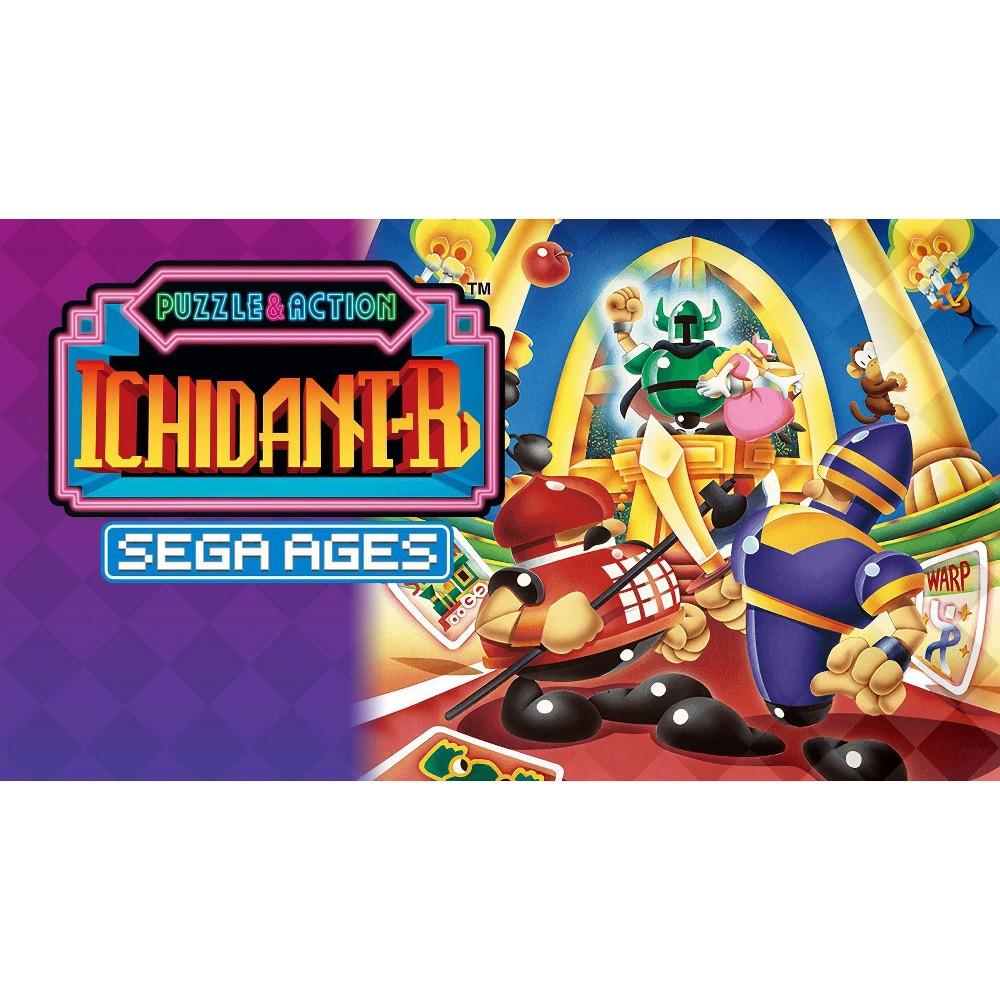 Sega Ages Puzzle 38 Action Ichidant R Nintendo Switch Digital
