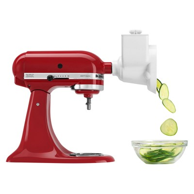 KitchenAid Refurbished Stand Mixer Attachment Roto Slicer With shredder White - RRRVSA