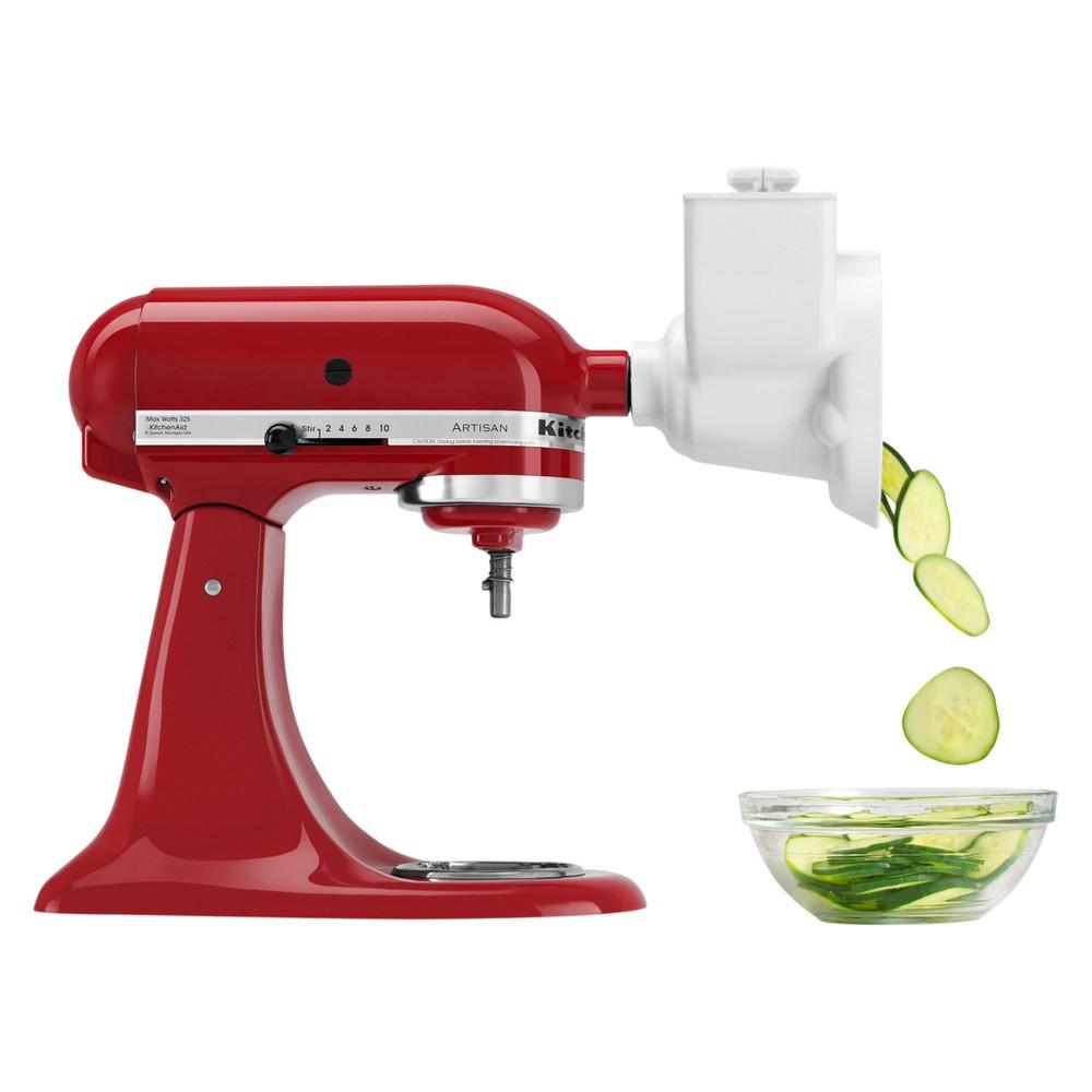 KitchenAid Refurbished Stand Mixer Attachment Roto Slicer With shredder White - RRRVSA
