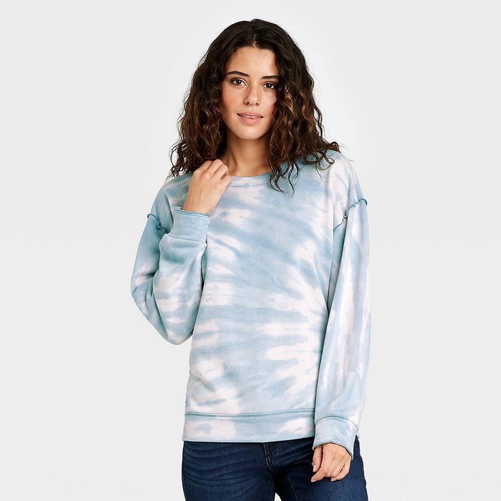 Women 39 S Tie Dye Sweatshirt Knox Rose 8482 Blue S