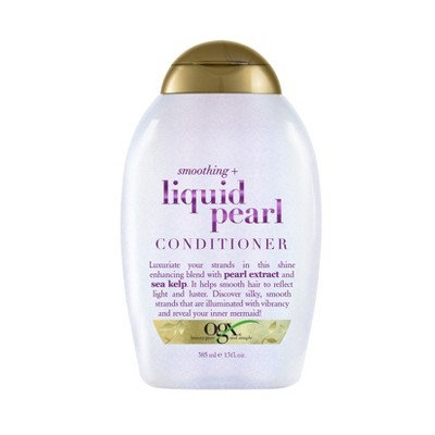 OGX Smoothing + Liquid Pearl Conditioner - 13 fl oz