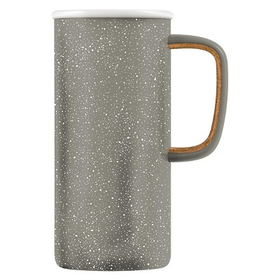 Ello® Campy Vacuum Travel Mug 16oz Stainless Steel - Cool Gray