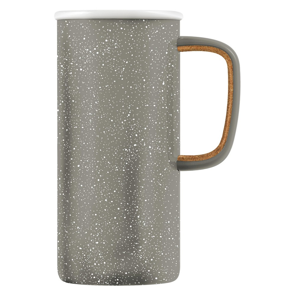 Ello Campy 18oz Stainless Steel Travel Mug Gray