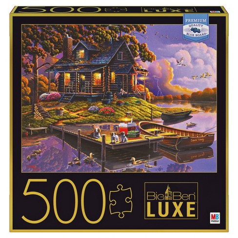 Big Ben Luxe: Stormy Cabin Puzzle 500pc - image 1 of 4