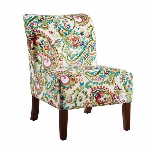 Julie Curved Back Slipper Chair - Linon - image 1 of 2