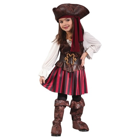 Girls' High Seas Pirate Toddler Costume Girl - image 1 of 1
