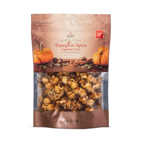 Pumpkin Spice Caramel Corn with Pumpkin Seed Kernels - 7oz - Archer Farms™ - image 1 of 1
