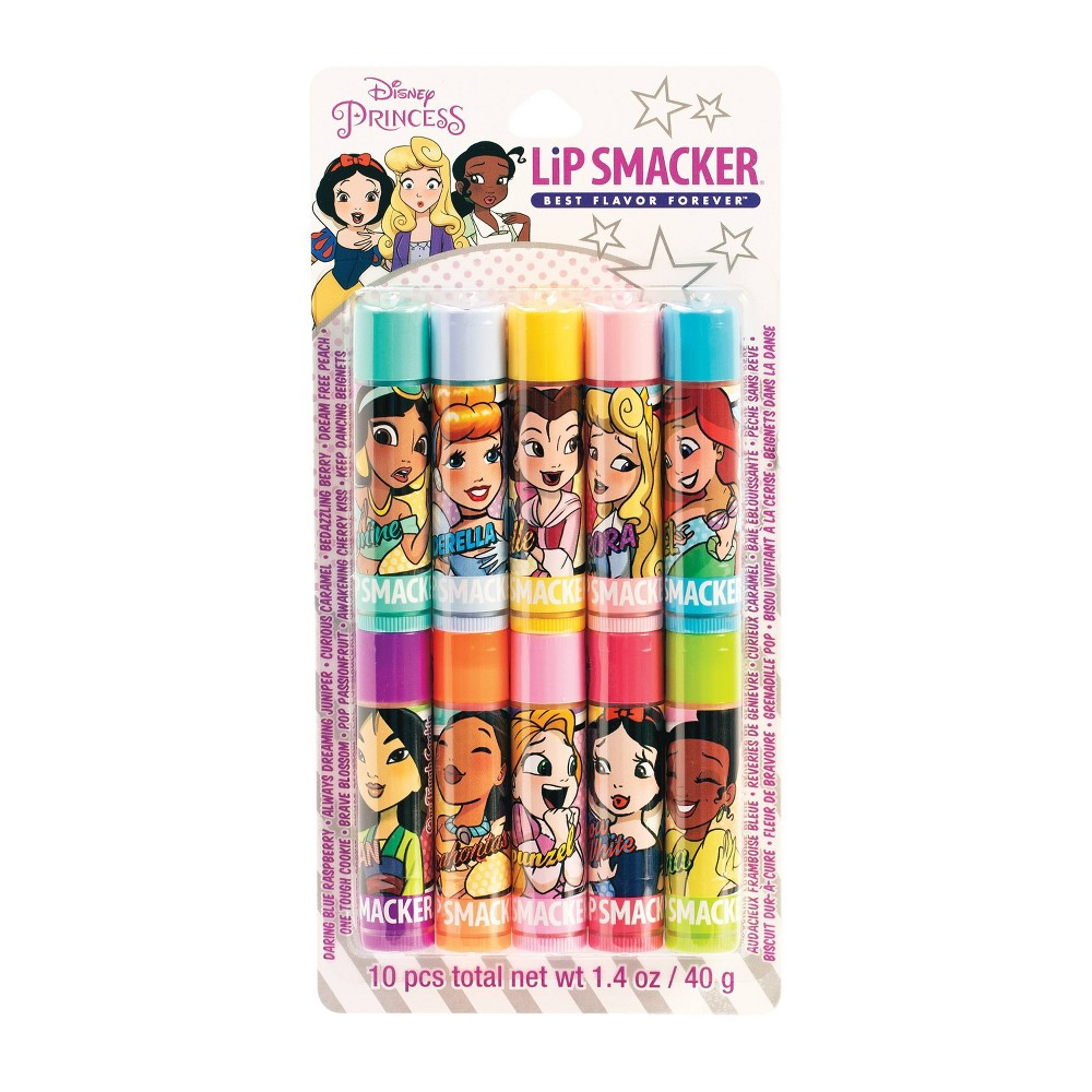 Image of Lip Smacker Comic Princess Lip Balm Party Pack - 10ct /1.4oz