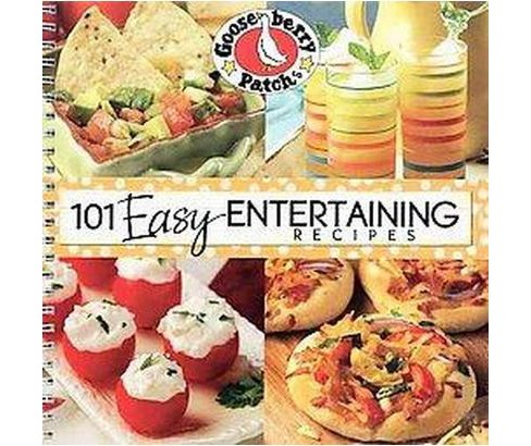101 Easy Entertaining Recipes Cookbook (Paperback) - image 1 of 1
