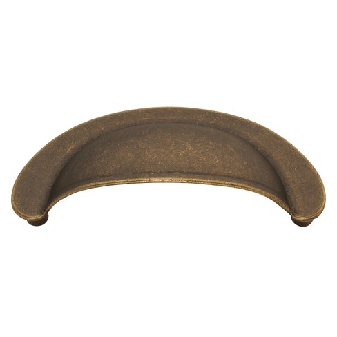 """Hickory Hardware PA1021 Manchester 2-3/4"""" Center to Center Cup Cabinet Pull - image 1 of 1"""