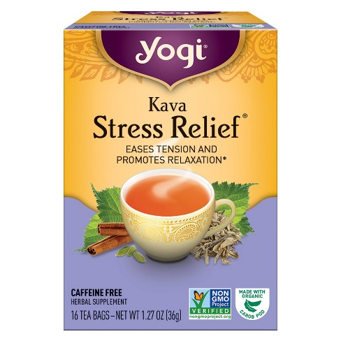 Yogi Kava Stress Relief Tea 16ct - image 1 of 2