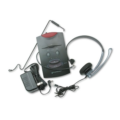 Plantronics S11 System Over-the-Head Telephone Headset w/Noise Canceling Microphone