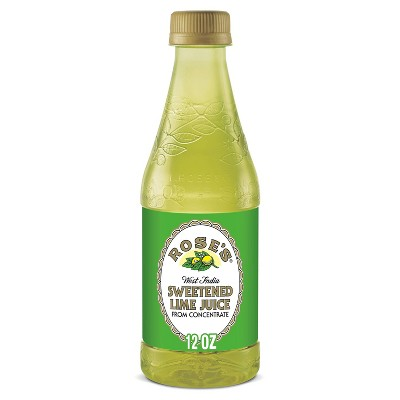 Rose's Sweetened Lime Juice - 12 fl oz Bottle