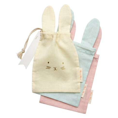 Meri Meri - Pastel Bunny Gift Bags - Gift Bags - Easter - 6ct - image 1 of 4