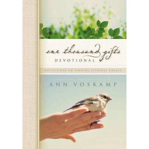 One Thousand Gifts Devotional - by  Ann Voskamp (Hardcover) - image 1 of 1