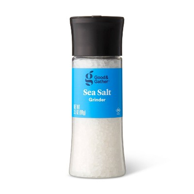 Sea Salt with Grinder - 3.5oz - Good & Gather™