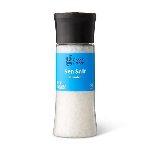 Sea Salt with Grinder - 3.5oz - Good & Gather™ - image 1 of 2