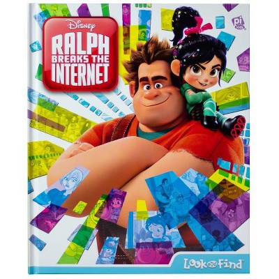 Disney Ralph Breaks the Internet - (Look and Find) (Hardcover)