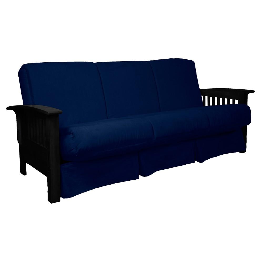 Awe Inspiring Craftsman Perfect Futon Sofa Sleeper Black Wood Finish Epic Inzonedesignstudio Interior Chair Design Inzonedesignstudiocom