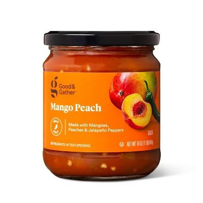 Mild Mango Peach Salsa 16oz - Good & Gather™