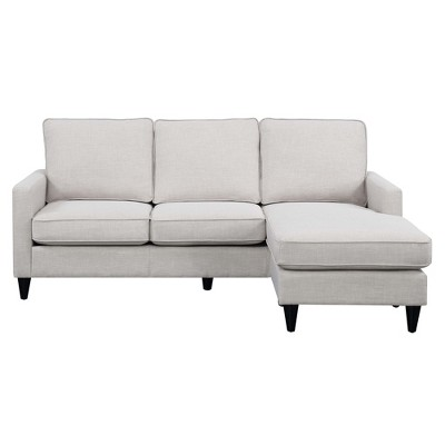 Nori Reversible Chaise Sectional Taupe - Picket House Furnishings