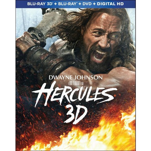 Hercules 3D [Unrated] [3 Discs] [Includes Digital Copy] [Ultraviolet] [3D/2D] [Blu-ray/DVD] - image 1 of 1