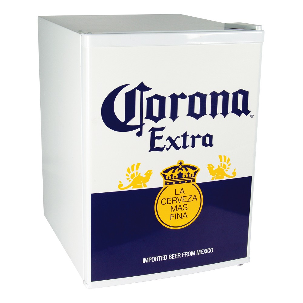 Corona Compact Beer Refrigerator – 2.4 cubic feet, White/Blue/Yellow 53049600