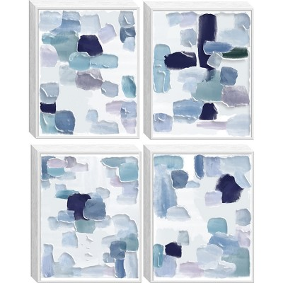 Structure 4pc Tinted Gel Framed Wall Canvas 21 X 27 X 5 - Project 62™