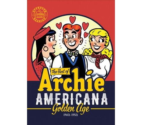 Best of Archie Americana : Golden Age 1940ss-1950s (Paperback) - image 1 of 1