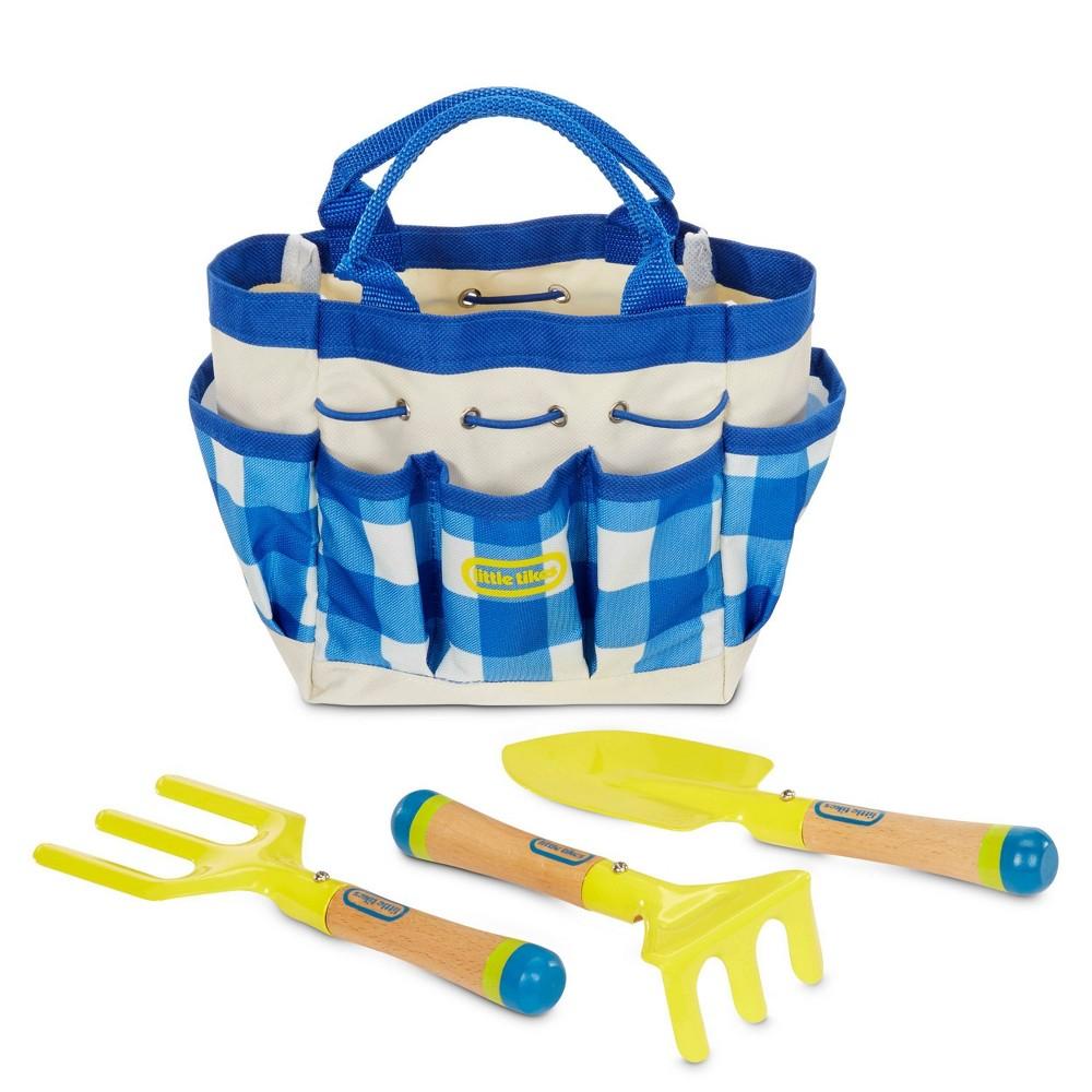 Little Tikes Growing Garden Lightweight 38 Durable Metal Gardening Hand Tools 38 Bag For Kids 39