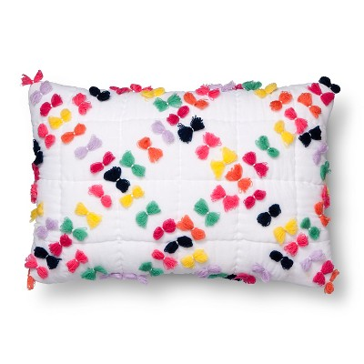 Tassel Throw Pillow (18 x12 )- Pillowfort™