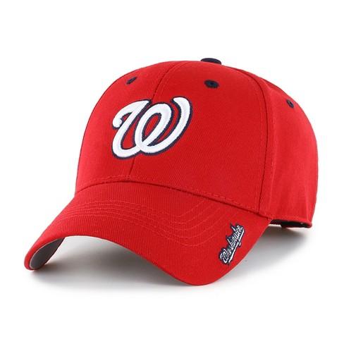 c30b4c9efa9 MLB Washington Nationals Frost Adjustable Cap Hat By Fan Favorite   Target
