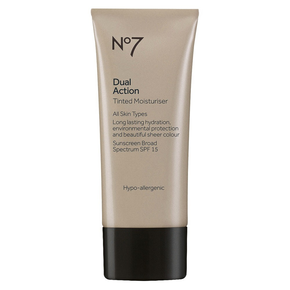 Image of No7 Dual Action Tinted Moisturizer SPF 15 Fair - 1.6oz